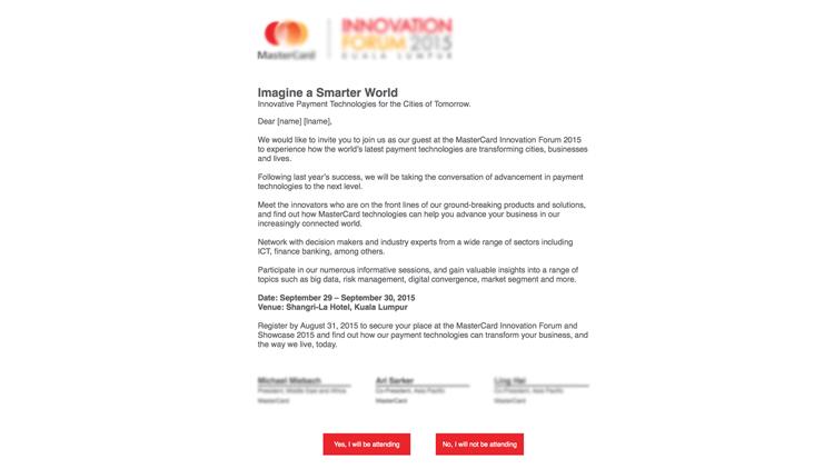 digital inbjudan event